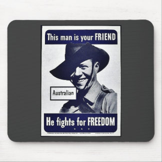 This Man Is Your Friend Mouse Pad