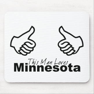 This Man Loves MN Mouse Pad