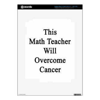 This Math Teacher Will Overcome Cancer Skins For iPad 3