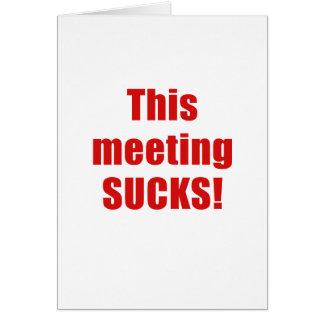 This Meeting Sucks Card