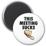 This Meeting Sucks! Thumbs Down! Magnet