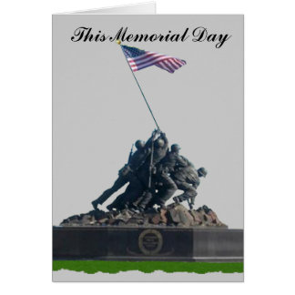 This Memorial Day Greeting Card