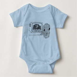 This mindless blather isedited for TV Baby Bodysuit