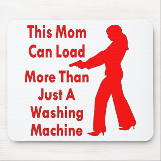 This Mom Can Load More Than Just A Washing Machine Mouse Pad