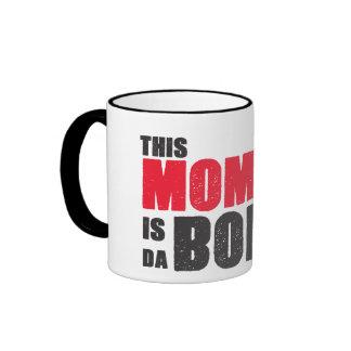 This Mom is da Bomb mug