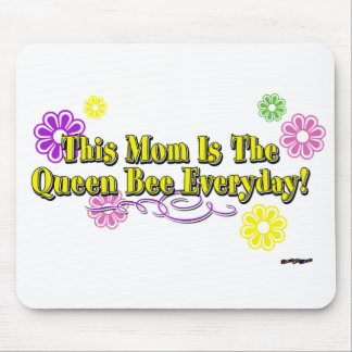 This Mom Is The Queen Bee Everyday Type Mouse Pad
