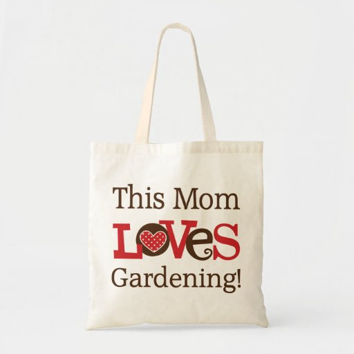 This Mom Loves Gardening Tote Bag