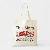This Mom Loves Genealogy Bags