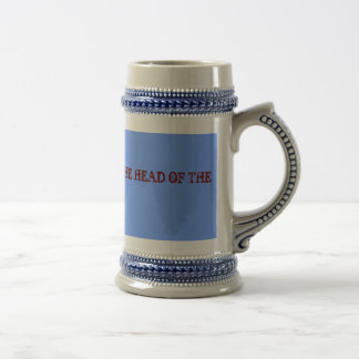 THIS MUG BELONGS TO THE HEAD OF THE HOUSE
