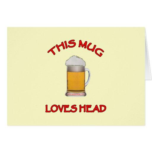 This Mug Loves Head Card