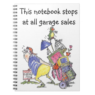 This Notebook Stops at all Garage Sales