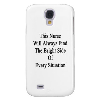 This Nurse Will Always Find The Bright Side Of Eve Samsung Galaxy S4 Cover