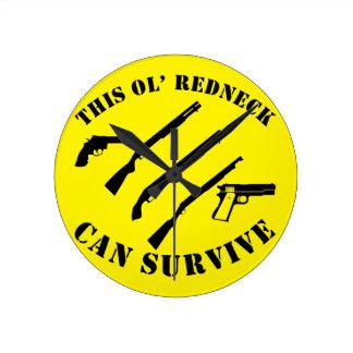 This Ol' Redneck Can Survive Round Clock