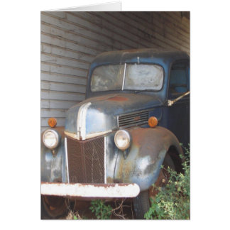 This Old Car Greeting Card