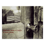 """""""This Old Flag"""" Customizable Print"""