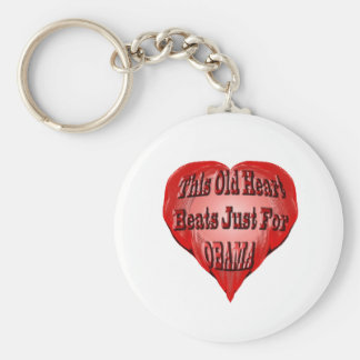 This Old Heart for Obama Keychain