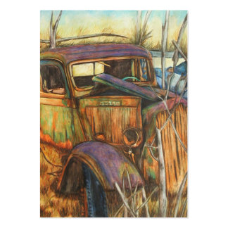 This Ole Truck ACEO Art Trading Cards Business Card