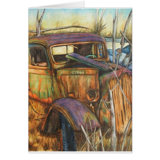 This Ole Truck Fine Art Cards
