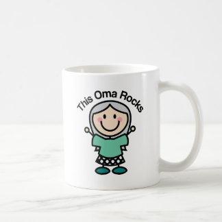 This Oma Rocks Gift Idea Mugs