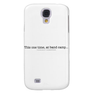 This one time at band camp... samsung galaxy s4 cover