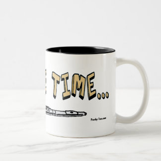 This one time...mug Two-Tone coffee mug