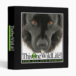 This One Wild Life Binder