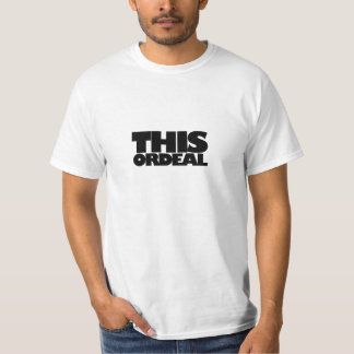 This Ordeal Black Gill Tee Shirt