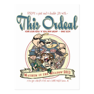 This Ordeal 'Mayhem in the meadow' stuff Postcard