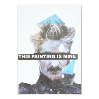 this painting is mine card