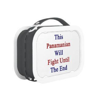 This Panamanian Will Fight Until The End Yubo Lunchbox