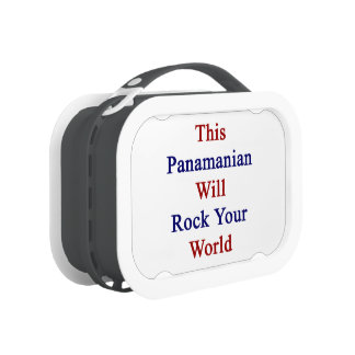 This Panamanian Will Rock Your World Yubo Lunch Box