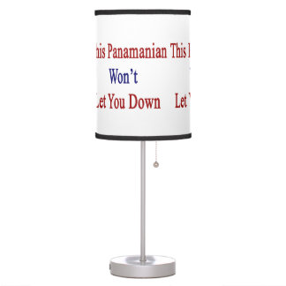 This Panamanian Won't Let You Down Table Lamp