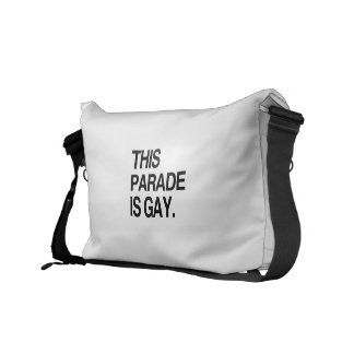 This parade is gay courier bag