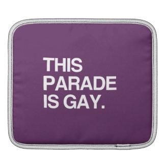 This parade is gay iPad sleeve
