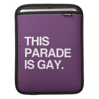 This parade is gay iPad sleeves