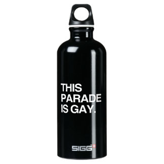 This parade is gay SIGG traveler 0.6L water bottle