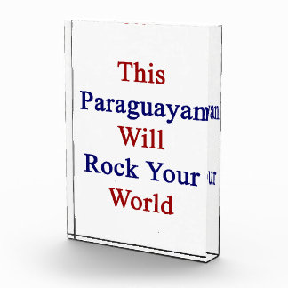 This Paraguayan Will Rock Your World Awards