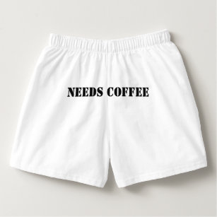 30427da906fc9c THIS PERSON NEEDS COFFEE Boxer Shorts mens/womens