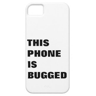 This phone is bugged, tracked, tagged and monitord iPhone SE/5/5s case