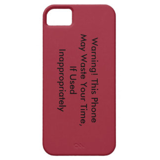 This Phone May Waste Your Time IPhone Case