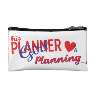 This Planner Girl Loves Planning Cosmetic Bag