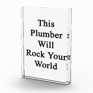 This Plumber Will Rock Your World Awards