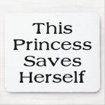 This Princess Saves Mouse Pad