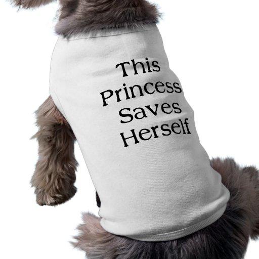 This Princess Saves Pet Shirt
