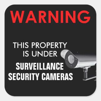 Ring Surveillance Sticker