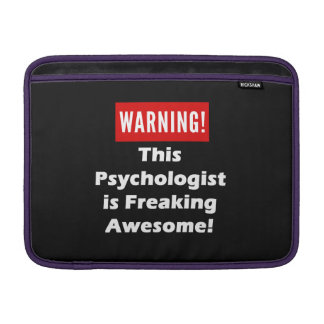 This Psychologist is Freaking Awesome! MacBook Air Sleeve