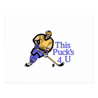 This Pucks For You Postcard