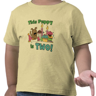 This Puppy is Two Tshirts and Gifts