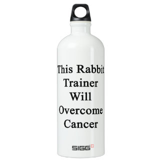 This Rabbit Trainer Will Overcome Cancer SIGG Traveler 1.0L Water Bottle