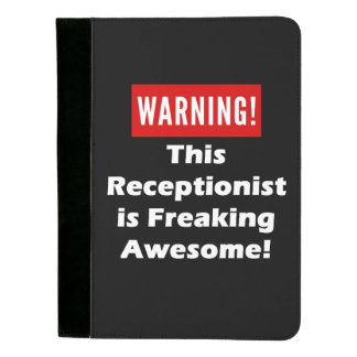 This Receptionist is Freaking Awesome! Padfolio